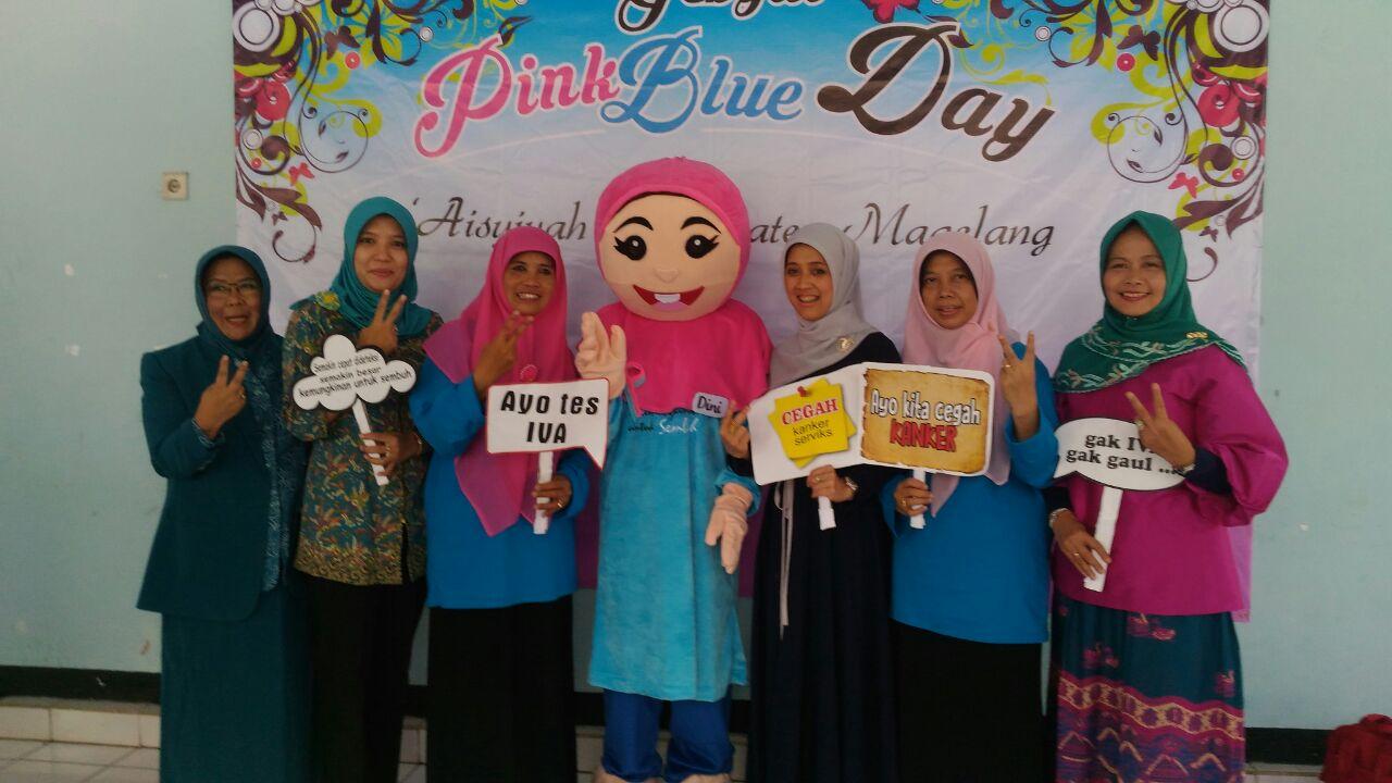 Acara Gebyar Pink Blue Day dibuka oleh Ibu Tanti Zaenal Arifin
